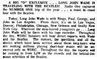What's Doing 'Round Connecticut column - August 23, 1964