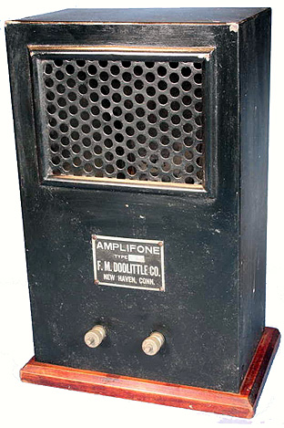 Amplifone manufactured by the F.M. Doolittle Company of New Haven, Connecticut