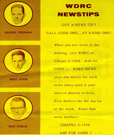 WDRC Newstips - May 23, 1960