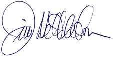 Jim Nettleton signature
