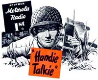 Motorola ad for Handie-Talkie