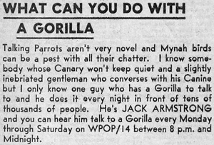 "September 7, 1969 - excerpt from ""WPOP Boss Edition"" in The Hartford Courant TV Week"