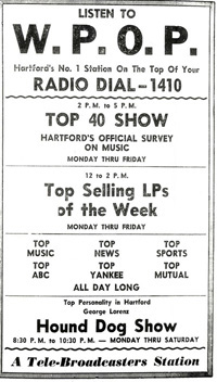 newspaper ad - January 5, 1958